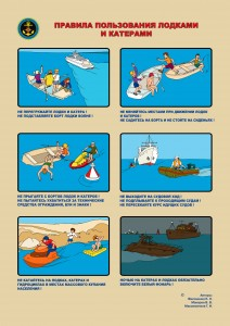 Правила пользования лодками и катерами